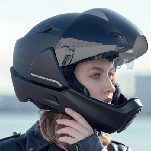 The Smart Motorcycle Helmet